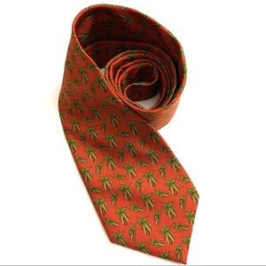 Brooks Brothers 100% silk hand finished tie
